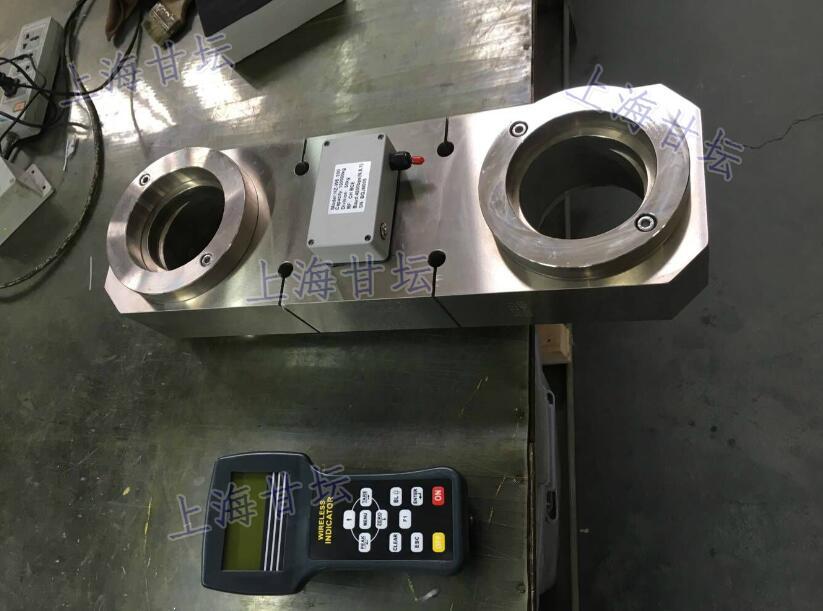 非标定制300k一体式无线拉力计 加宽型 带卸扣